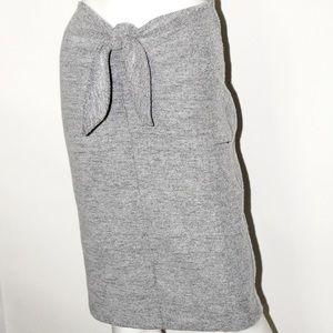 Midi Tie front Skirt
